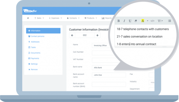 sales-notes-crm-invoicing
